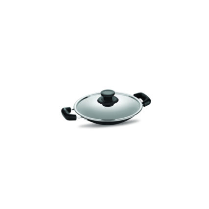 Nonstick Cookware Pigeon APPACHETTY 200 WITH STAINLESS STEEL LID