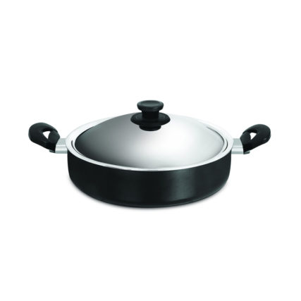 Nonstick Cookware Pigeon CASSEROLE 215 WITH STAINLESS STEEL LID