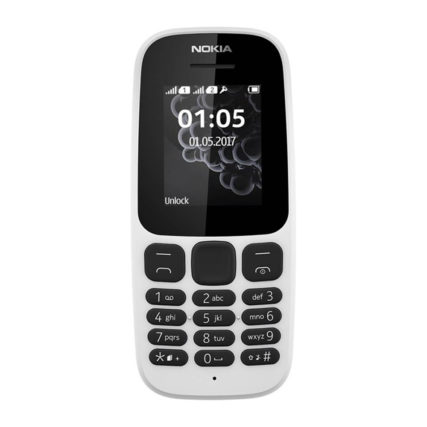Nokia 105 DS (White)