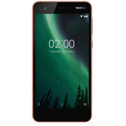 Nokia 2 8 GB (Copper/Black)