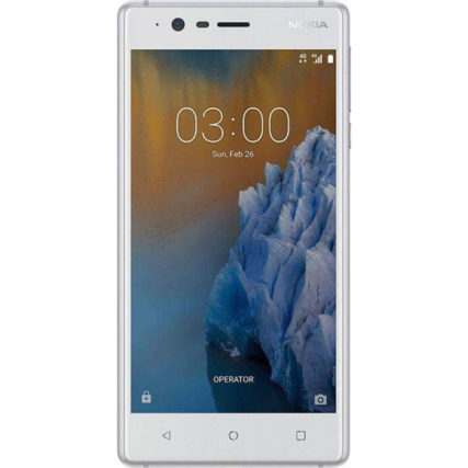 Nokia 3 16 GB (Silver White)