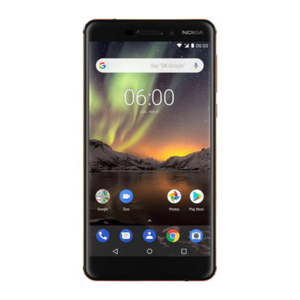 Nokia 6.1 32 GB (Black, Copper)